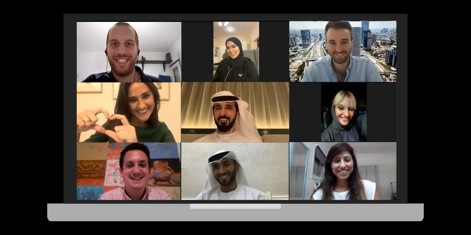 Israelis and Emiratis meet on zoom